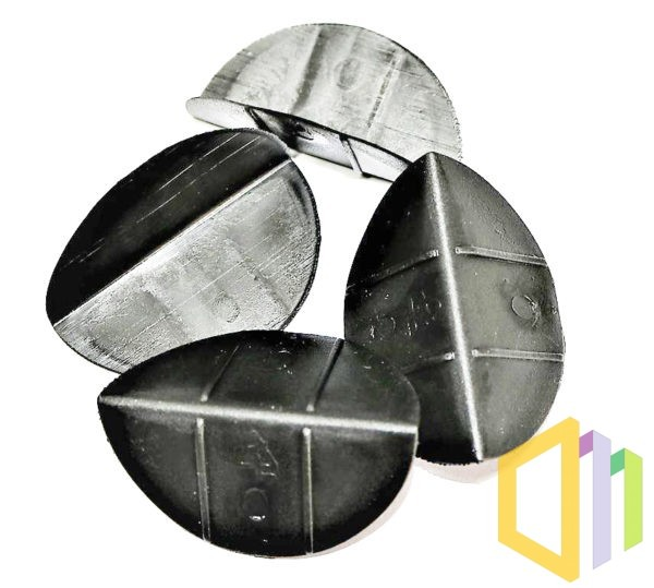 Półokrągłe miękkie narożniki ochronne PP
