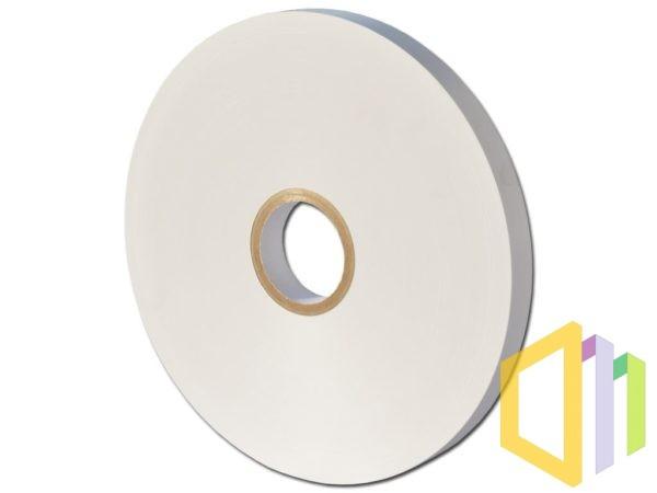 Taśma do banderolowania papierowa biała z nadrukiem