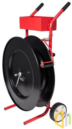 Wózek odwijacz (dyspenser) do taśmy PP/PET 406 mm