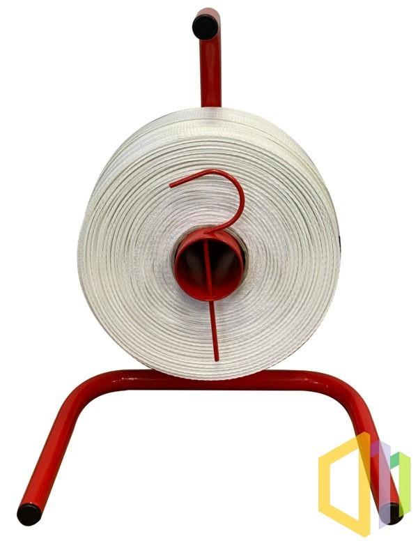 Wózek odwijacz (dyspenser) do taśmy PP/PET, taśm tkanych i kompozytowych 76 mm