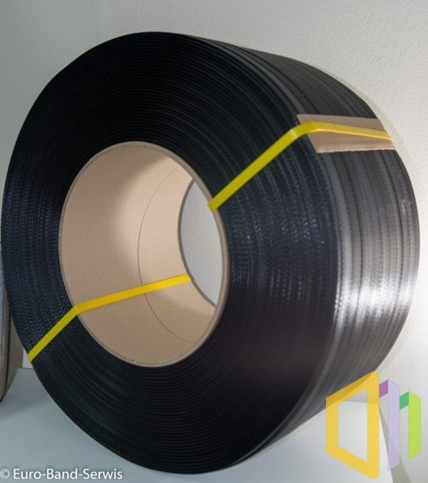 Taśma polipropylenowa (PP) EBS 12060 D 2,5 km czarna