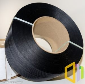 Taśma polipropylenowa (PP) EBS 12080 D 2,0 km czarna