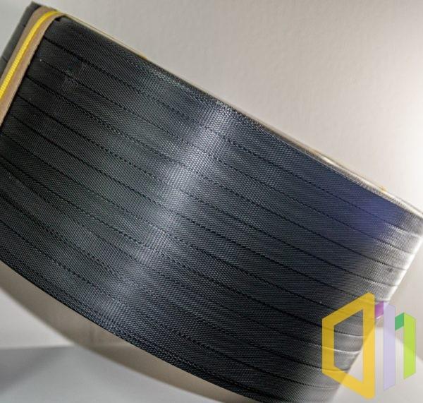 Taśma polipropylenowa (PP) EBS 16080 G 1,5 km czarna