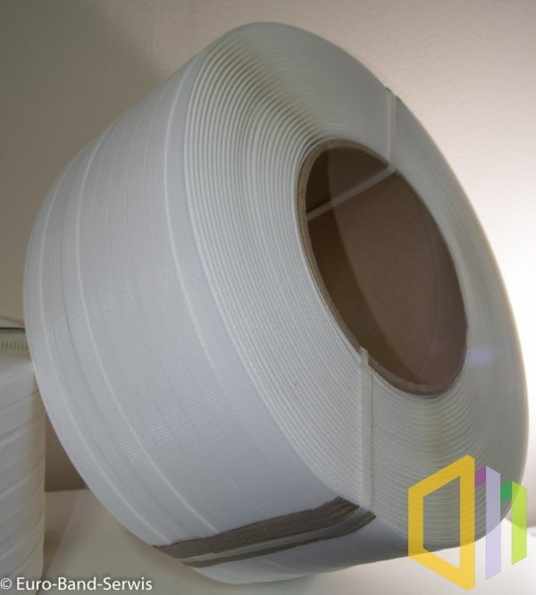 Taśma polipropylenowa (PP) EBS 19090 D 1,1 km biała