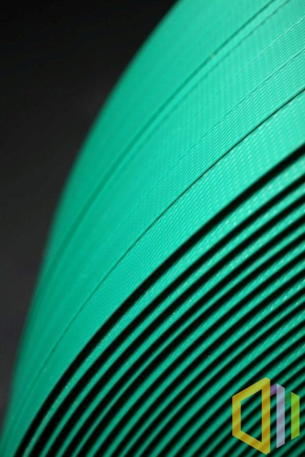Taśma poliestrowa (PET) karbowana 19X0,80 mm zielona 1200 M 5400 N