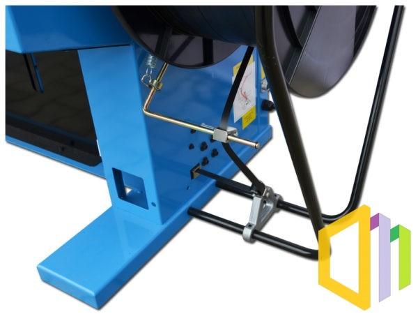 Wiązarka automatyczna (bandownica ramowa) TP-6000 - hamulec bębna