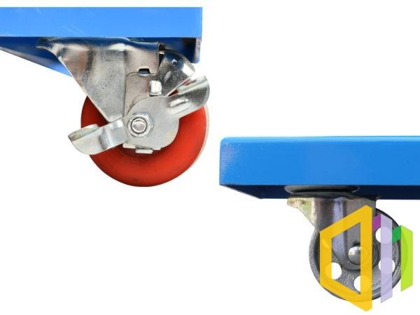 Wiązarka ramowa (bandownica automatyczna) Transpak TP-6000 kółka i blokada