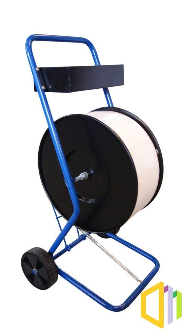 Wózek odwijacz (dyspenser) do taśmy PP/PET  oraz GW o średnicy 200 mm